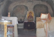 Inside the church of St Agathi